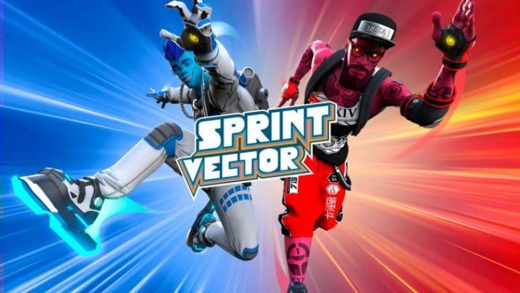 غلاف لعبة Sprint Vector