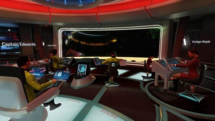 صورة من لعبة Star Trek: Bridge Crew