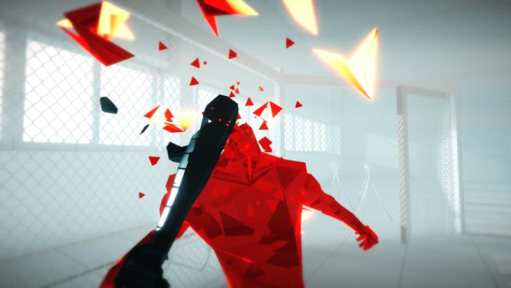 صورة من داخل لعبة Superhot VR