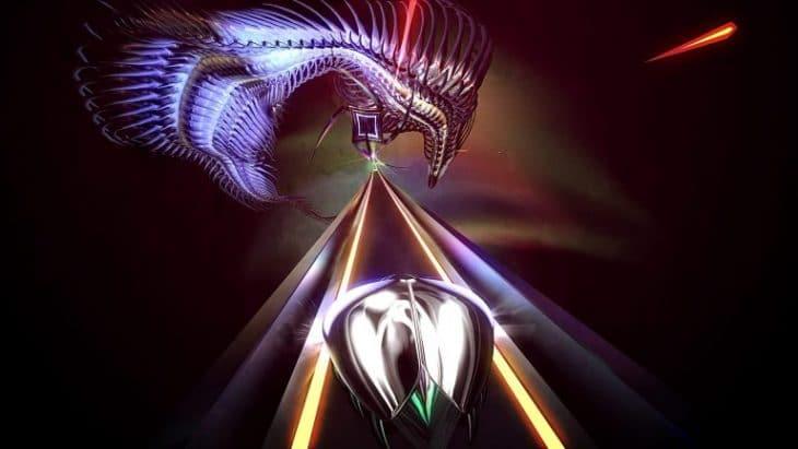 صورة من داخل لعبة Thumper