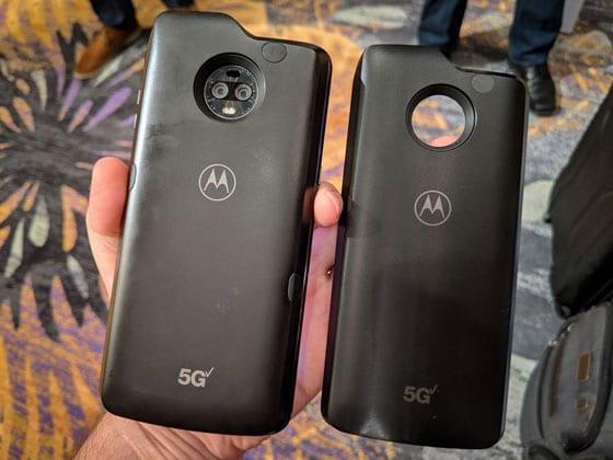 هاتف 5G Motorola Mod