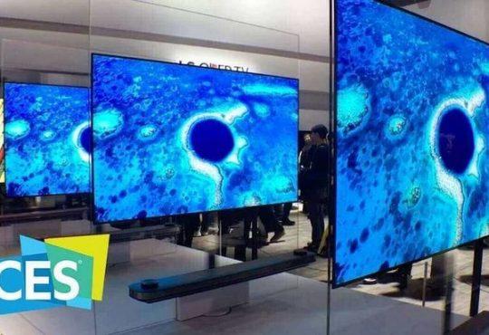 أجهزة تلفاز معرض CES 2019